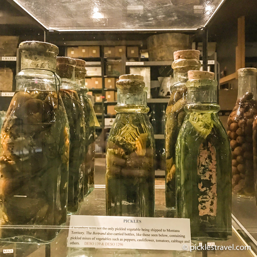 Pickles from 1865 Bertrand at Desoto National Wildlife
