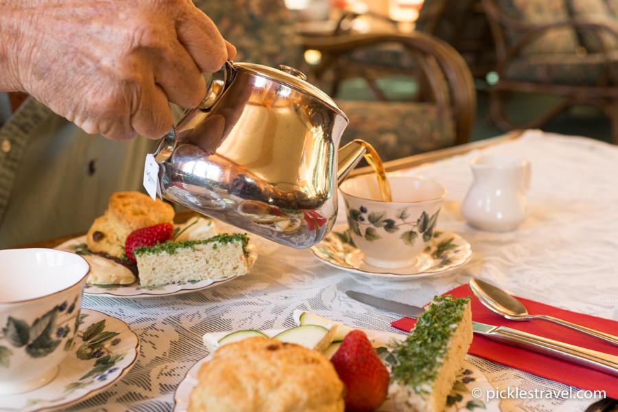 Magical Tea Time at Naniboujou Lodge