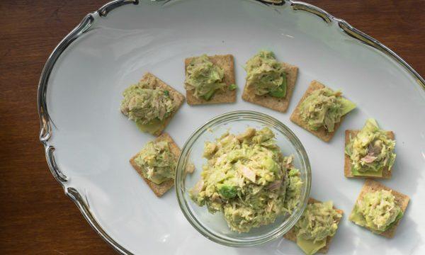 Tuna Fish and Avocado Appetizer