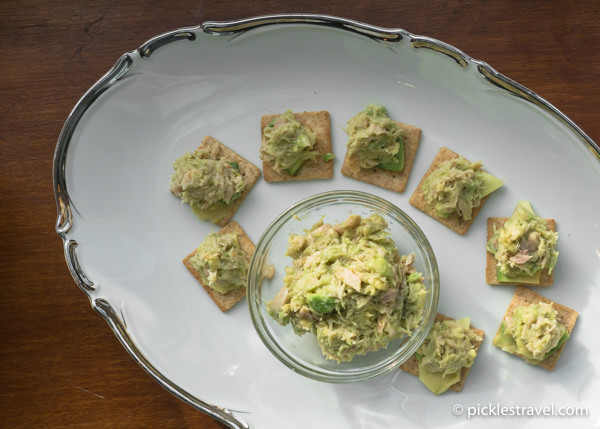 Tuna Fish and Avocado Appetizer