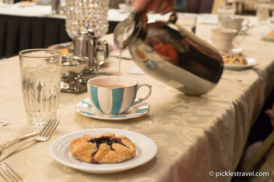 Tea is served at the St Paul Hotel Etiquette Tea