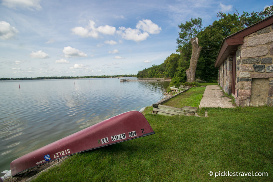Rent a Canoe at Sibley State Park in Minnesota