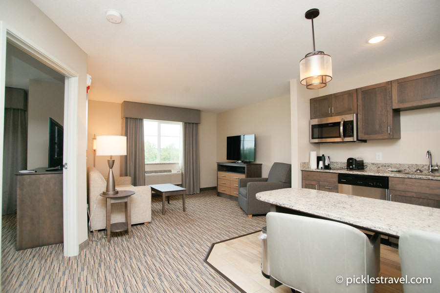 GrandStay extended stay living room