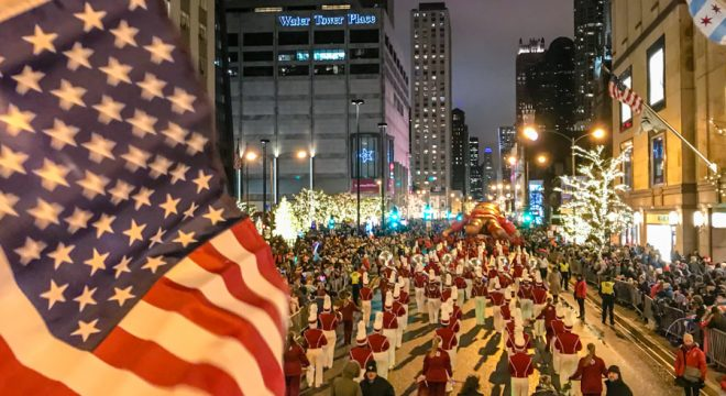 Family Friendly Holiday Events in Chicago Magnificent Mile Lights Parade