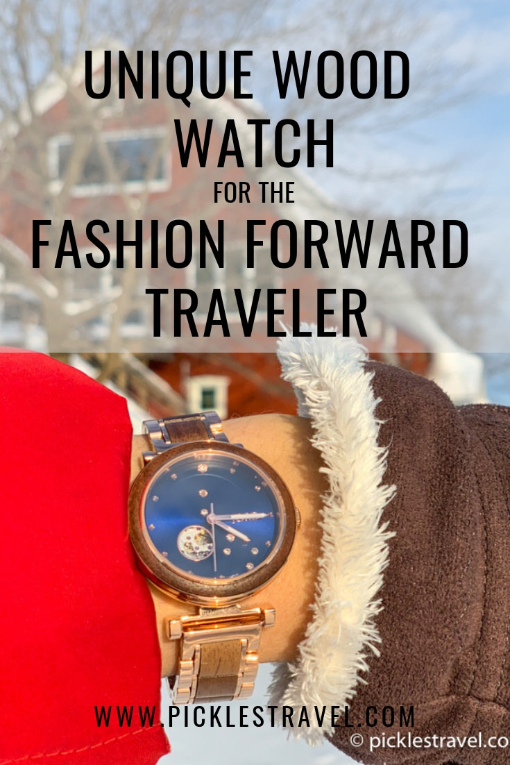 JORD Wood Watch Review for the Fashion Forward Traveler adventurer