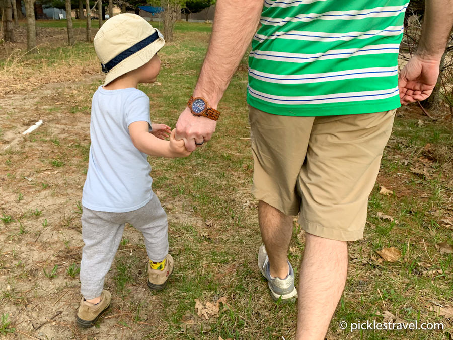 A Father's Day Walk Hand in Hand with JORD wood watch